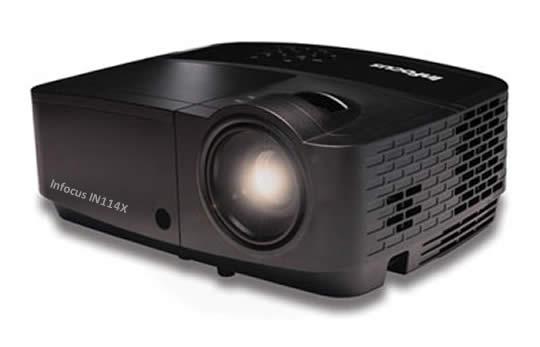 Vidéoprojecteurs à prix abordable, haute performance de la serie IN110X Infocus
